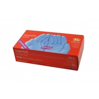 Nitrile Gloves Powder Free Soft Blue