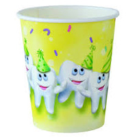 Cups - Paper Smile Tooth 147ml (5oz)